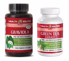 energy boost mood enhance - GRAVIOLA – GREEN TEA COMBO 2B - green tea energy