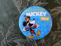 Walt Disney HAPPY BIRTHDAY MICKEY 2019 Exclusive Pin