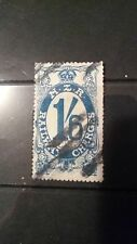 New Zealand Railway charges 1/6 Auckland, good condition