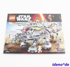 lego instruction de montage STAR WARS 75157 CAPTAIN REX AT-TE NEUF réf. pièces