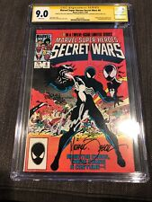 Secret Wars 8 CGC SS  Signed 3X & REMARKED Stan Lee,John Beatty,Mike Zeck