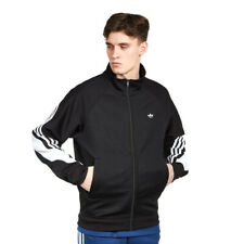 adidas - 3Stripe Wrap Track Top Black / White Trainingsjacke Jacke