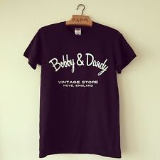 Bobby And Dandy Vintage Store Fruit of the Loom Black Cotton Tee- Shirt Medium