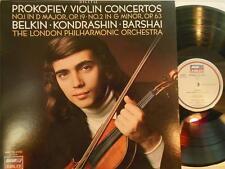 BORIS BELKIN- PROKOFIEV VIOLIN CONCERTOS / Kondrashin / Barshai / LJ 411 704-1