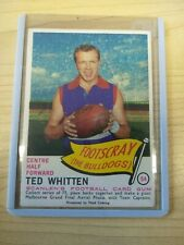 Ted WHITTEN Footscray **** P54 2007-1966 Scanlens Archives Portrait Series