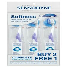 SENSODYNE Toothbrush Complete Protection for Sensitive Teeth - Soft x 3 Units