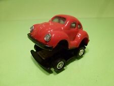 VINTAGE STAPLER J.S.N.Y. VW VOLKSWAGEN BEETLE KAFER - RED  L7.0cm