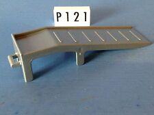 (P121) playmobil piéce vehicule rampe grise