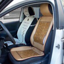1x Wooden Bamboo Car Seat Cover Summer Cool Cushion Back Support Waist Massage