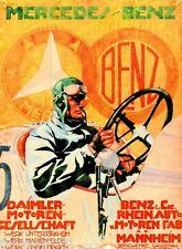 1937 Masaryk Brunn Grand Prix Automobile Race Car Advertisement Vintage Poster