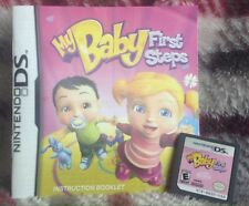 My Baby First Steps 2009 Nintendo DS Video Handheld Game Great Condition