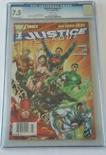 Justice League #1 New 52, DC, CGC 7.5