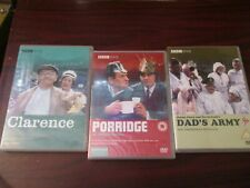 Comedy DVDs - Clarence / Dads Army / Porridge