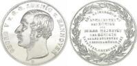 1 Thaler 1853 B Braunschweig-Calenberg-Hannover Georg V, Besuch Der Coin Xf-Bu