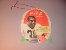 Repro Cleveland Browns Marion Motley Coca Cola Hanging Store Advertisement