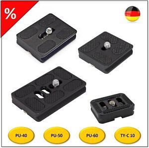 Universal Schnellwechselplatte ARCA-SWISS Kompatibel TY-C 10 PU-40 PU-50 PU-60