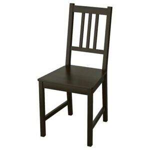 Ikea Stefan Chair brown-black New