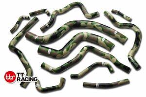 Silicone Radiator Hose Kit MITSUBISHI LANCER Evolution EVO 7/8/9 CT9A Camo Green