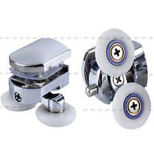 2 pcs Double Top Zinc Alloy Shower Door Rollers  26mm Wheel Runner Wheel Hot