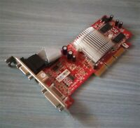 Scheda video slot AGP - ATI Radeon 9200SE - 128 MB - VGA - DVI - S-VIDEO OUT