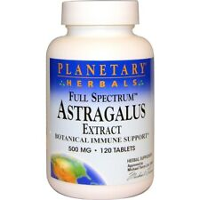Astragalus Root Strong Extract 120 Tabs Immune Support Cold Flu Fatigue Liver