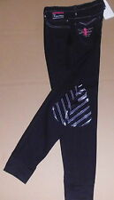 Horka Reithose Rimini,Silikon Kniebesatz,schwarz , Gr. 38,Elasta, fällt groß aus