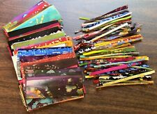 "200 Batik Selvages 100 Sticks 45 Prints 5"" Quilting Sewing 100% Cotton Fabric"