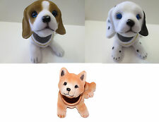 Bobbing Head Puppy Bobble Head Dog Animal  Car Dash New Toy ( 3pcs set )