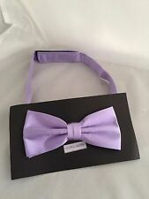 Lavender-Lilac Pre-tied Polyester Mens pre-tied Bow tie > P&P 2UK >1st Class
