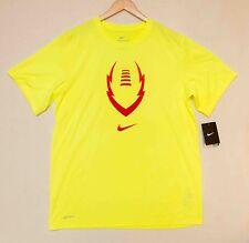 Mens Size Large Nike Dri-Fit T-Shirt Yellow New w/Tags