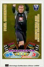 2011/12 Topps Premier League Match Attax Golden Moment GM32 Paul Robinson