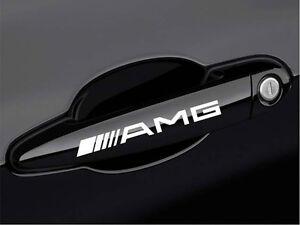 AMG Mercedes Benz C55 CLK E55 CLS63 E63 Door Handle Decal sticker emblem logo W