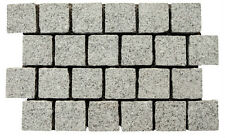 Spec White Granite Cobblestone Pavers 100x100mm Premium Quality
