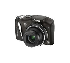 Canon PowerShot SX130 IS 12.1MP Digital Camera - Black, good used condition.