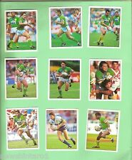 1994  CANBERRA  RAIDERS  SELECT RUGBY LEAGUE  STICKERS