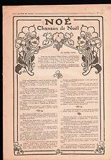 WWI Noé Chanson de Noêl George Auriol Huyot poète Poésie Vigne 1918 ILLUSTRATION