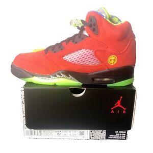 Nike 2020 Air Jordan 5 Retro What The GS Size 5.5Y