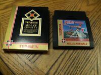 R.B.I. Baseball: Tengen ( Nintendo, 1988 ) Cartridge & Cardboard Sleeve