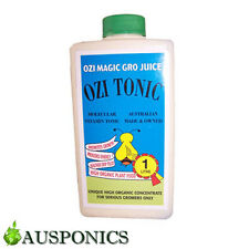1 LITRE OZI MAGIC OZI TONIC Organic Nutrients For Hydroponics Plant or Garden
