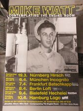 German Rock Roll Concert Poster Mike Watt : Contemplating The Engine Room Sony