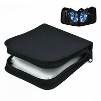 40-Space CD DVD Bluray Discs Protector Carry Case Holder Storage Bag Wallet
