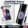 Samsung Galaxy UV Glue Nano Optics 3D 9H Curved Tempered Glass Screen Protector