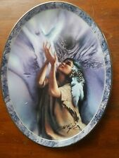 "Messengers of the Spirit collector plate "" The ""Hope"" by Lee  Bogle #1008 -A"