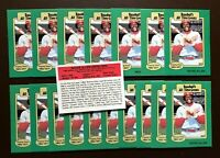 50) RICHIE ALLEN Chicago White Sox 1987 Hygrade Baseball's All Time Greats LOT