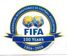 Aufkleber 100 Jahre FIFA  1904 - 2004   DFB Nationalmannschaft EM 2016 WM 2014