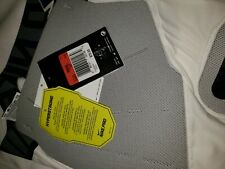Nike Pro Hyperstrong Sz L Football Compression Shorts w/ Hard Plates White $70