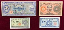 New ListingKorea, S. Korea 10,50 Jeon, 50 Sen, and 10 Won Fine+ to Very Fine