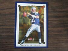 2002 Fleer Premium # 106 Tom Brady Card New England Patriots (B2)
