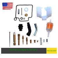 Carburetor Repair Rebuild Kit for Honda Rancher 400 TRX400FA TRX400FGA 2004 2007