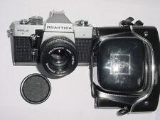 PRAKTICA MTL 3 35mm Film SLR Manual Camera + Pentacon 50mm F1.8 auto Lens * MINT